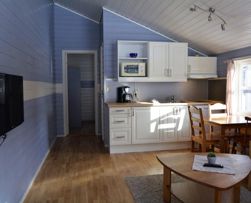 Kjøkken og stue