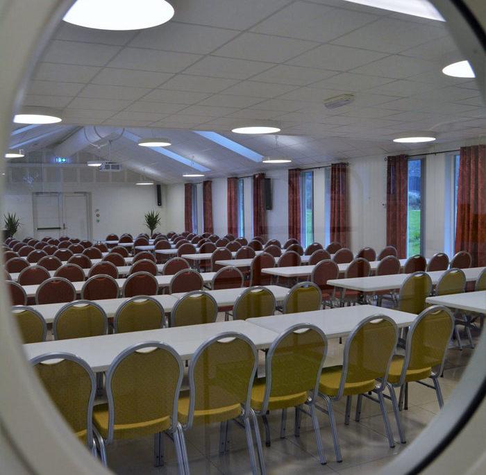 Konferanselokale, Bjørns lokale sett gjennom eit speil